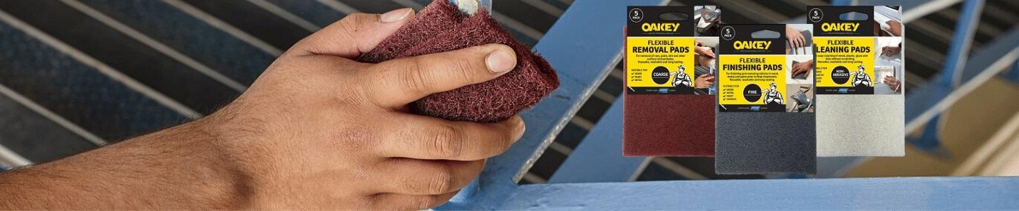 Non-woven pads